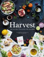 Harvest book cover