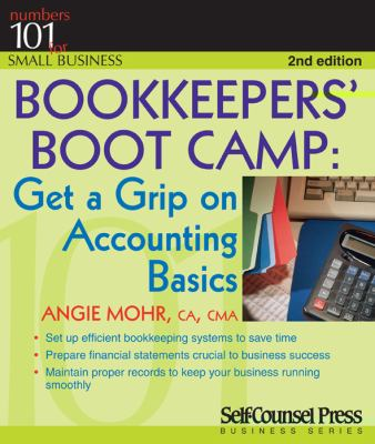 Cover Art for Bookkeepers' Boot Camp by Angie Mohr