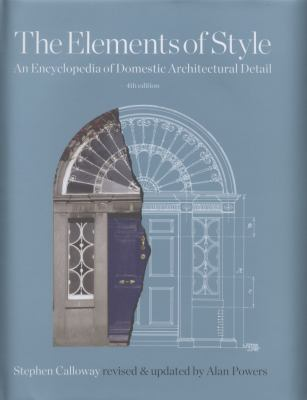 Elements of Style Encyclopedia of Domestic Architectural Detail book cover