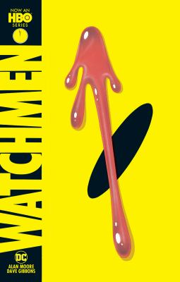 Book cover: Watchmen by Alan Moore