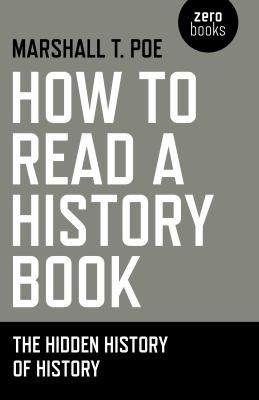 How to Read a History Book Cover