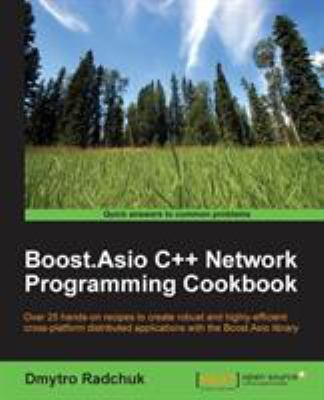 book cover: Boost. Asio C++ Network Programming Cookbook
