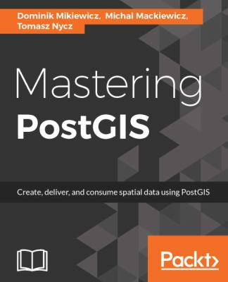 book cover:  Mastering PostGIS
