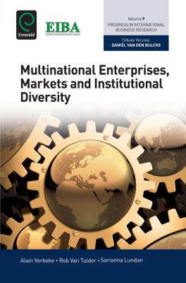 Book jacket for Multinational Enterprises, Markets and Institutional Diversity