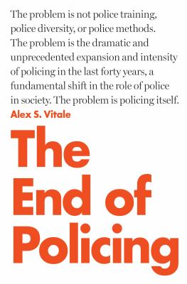 Vitale End of Policing cover art
