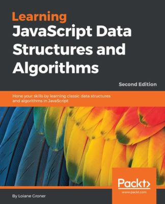 book cover: Learning JavaScript Data Structures and Algorithms