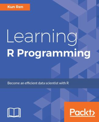 Book cover: Learning R Programming
