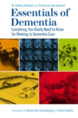 Book cover of Essentials of Dementia : Everything You Really Need to Know for Working in Dementia Care - click to open in a new window