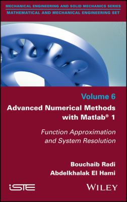 book cover:  Advanced Numerical Methods with Matlab