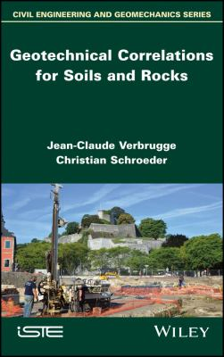 Book Cover: Ceotechnical Correlations for Soils and Rocks