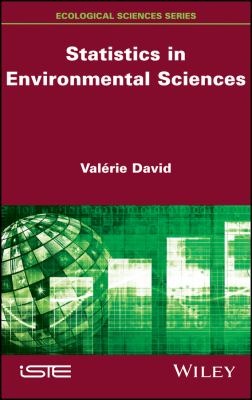 book cover:  Statistics in Environmental Sciences