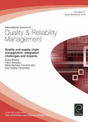 Quality and supply chain management: Integration challenges and impacts - Opens in a new window