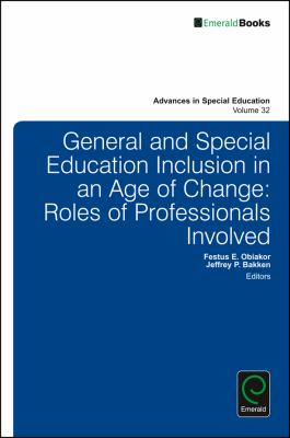 General and Special Education Inclusion in an Age of Change