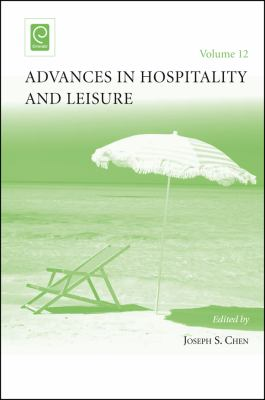 Cover Art for Advances in Hospitality and Leisure by Joseph S. Chen (Volume Editor)