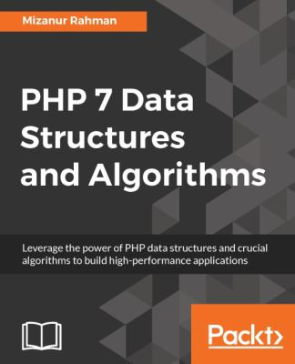 book cover: PHP 7 Data Structures and Algorithms