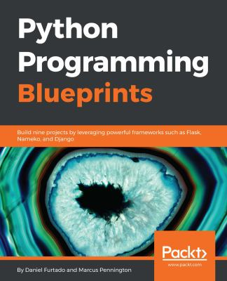 book cover: Python Programming Blueprints