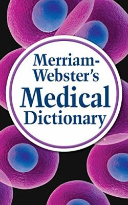 Book jacket for Merriam-Webster's Medical Dictionary