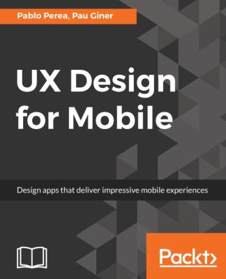 book cover: UX Design for Mobile