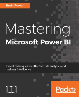 book cover: Mastering Microsoft Power BI
