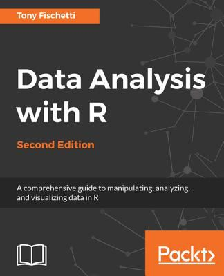 book cover: Data analysis with R : a comprehensive guide to manipulating, analyzing, and visualizing data in R