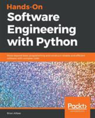 book cover: Hands-On Software Engineering with Python