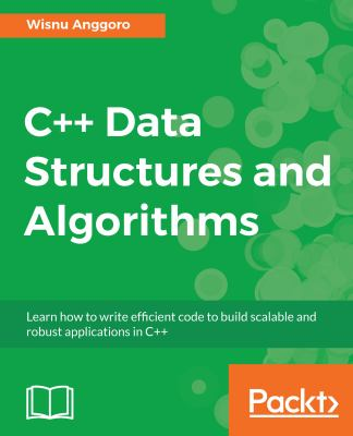 book cover: C++ Data Structures and Algorithms
