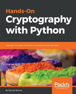 book cover: Hands-On Cryptography with Python