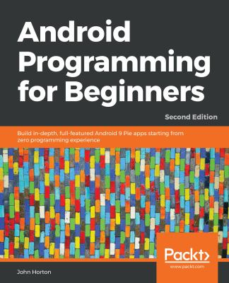 book cover: Android Programming for Beginners