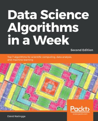 book cover: Data Science Algorithms in a Week