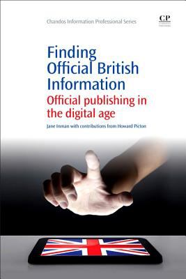 Image icon for book on finding official British information