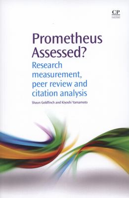 Prometheus Assessed? by Goldfinch and Yamamoto book cover.