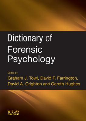 Dictionary of Forensic Psychology Cover Art