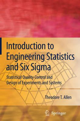 book cover: Introduction to Engineering Statistics and Six Sigma