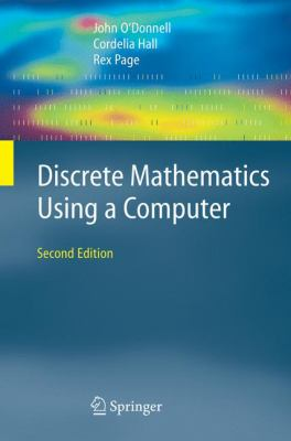 book cover: Discrete Mathematics Using a Computer