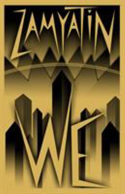 This is an image of the book cover of We.