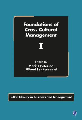 Book jacket for Foundations of Cross Cultural Management