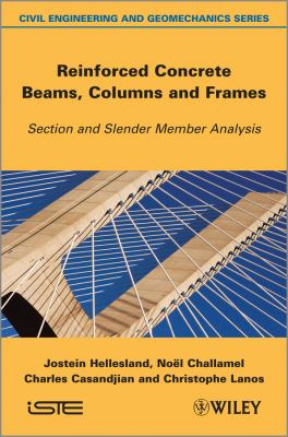book cover: Reinforced Concrete Beams, Columns and Frames