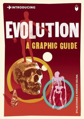 This is an image of the book cover of Introducing Evolution.