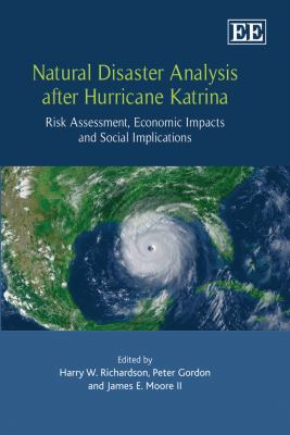 Book cover for Natural disaster analysis after hurricane Katrina.