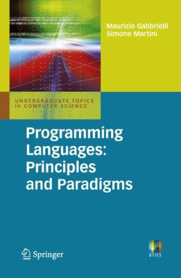 book cover: Programming Languages