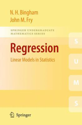 book cover: Regression: linear models in statistics