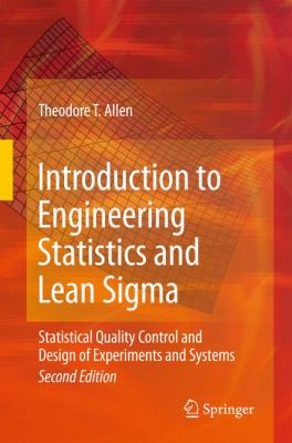 book cover: Introduction to Engineering Statistics and Lean Sigma