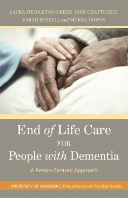 End of life care for people with dementia (Cover Art)