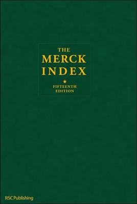 Cover Image: The Merck Index