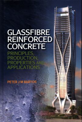 Cover Art for Glassfibre Reinforced Concrete by Professor Peter J. M. Bartos