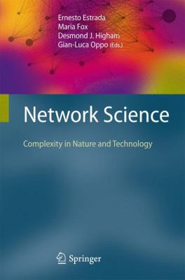book cover: Network Science: complexity in nature and technology