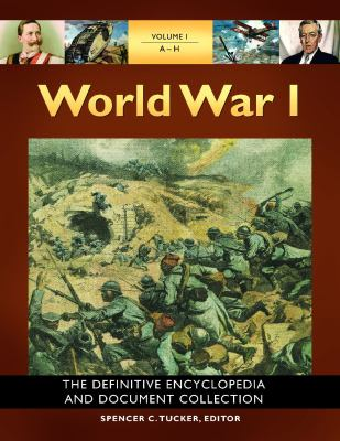 World War I book cover image