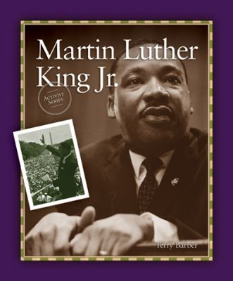 Cover Art features a purple border with a large picture of Martin Luther King Jr, with a smaller picture of him speaking on the lefthand side.