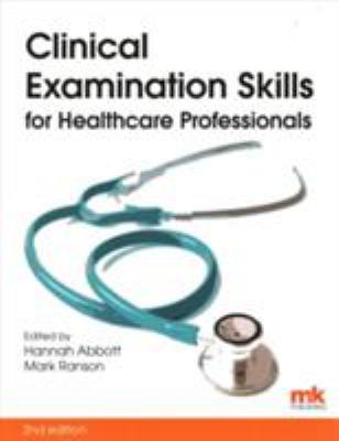 Book cover of Clinical Examination Skills for Healthcare Professionals - click to open in a new window