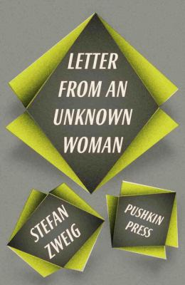 Zweig Letter from Unknown Pushkin cover art